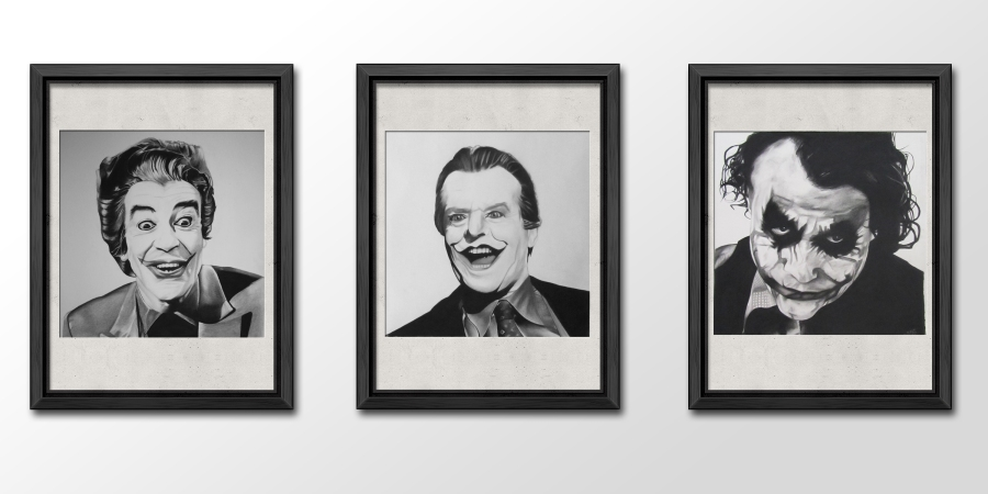 PSD mock ups Joker series
