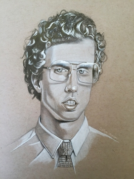 Portrait practice Napoleon Dynamite!
