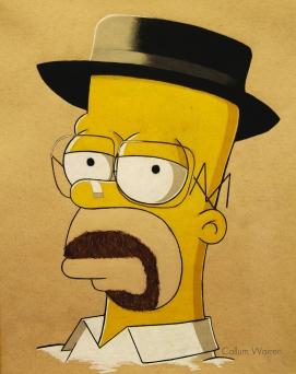 Homer as Walter White upload2