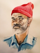 Bill Murray finished