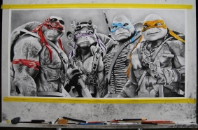 TMNT and some materials